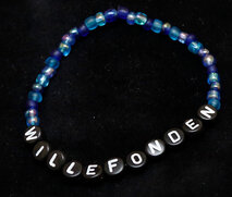 Bracelets blue/black