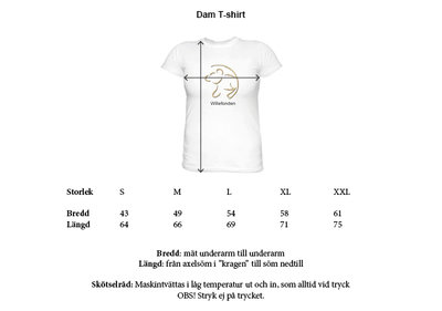 T-Shirt with large print. Ladies