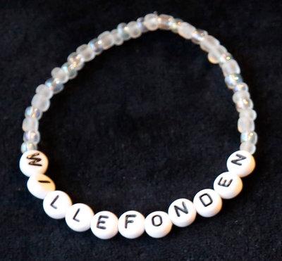 Bracelets white/white