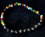 Bracelets clear/black