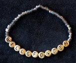 Bracelets Black/gold