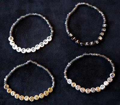 Bracelets Black/white