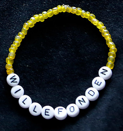 Bracelets yellow/white